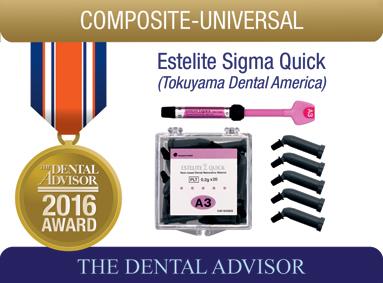 Estelite Sigma Quick  (Tokuyama Dental America Inc.)