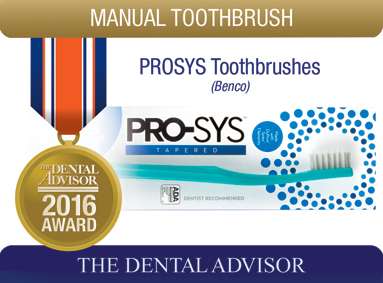 PRO-SYS® Tapered Toothbrush (Benco Dental)