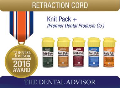 Knit-Pak + (Premier Dental Products Co.)