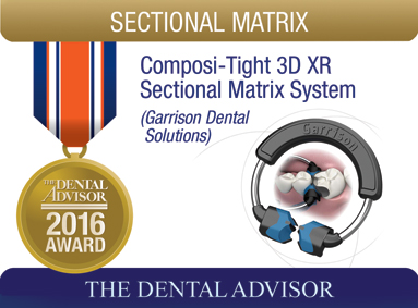 Composi-Tight 3D XR Sectional Matrix System (Garrison Dental Solutions)