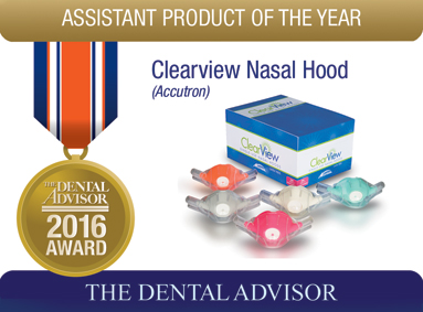 ClearView Single-Use Nasal Hoods (Accutron)