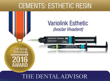 Variolink Esthetic (Ivoclar Vivadent)