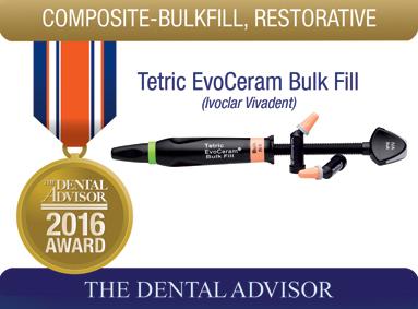 Tetric EvoCeram Bulk Fill (Ivoclar Vivadent)