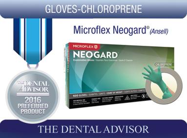 Microflex Neogard® Polychloroprene Exam Gloves (Ansell)