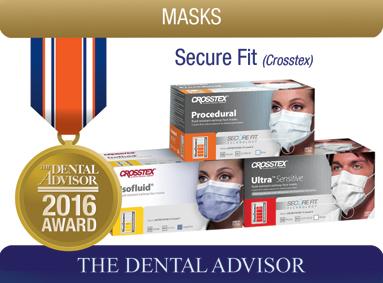SecureFit Technology Face Masks (Crosstex)