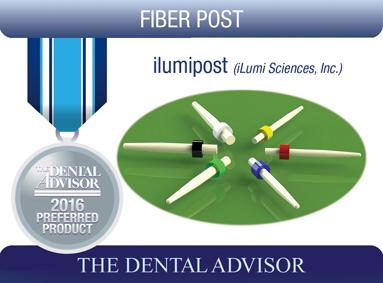iLumi Fiber Optic Dental Post (iLumi Sciences, Inc.)