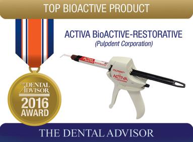 ACTIVA BioActive-Restorative (Pulpdent Corporation)
