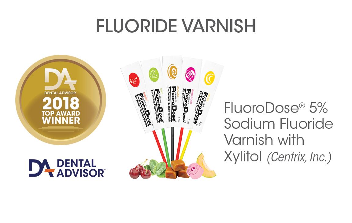 FluoroDose® 5% Sodium Fluoride Varnish with Xylitol