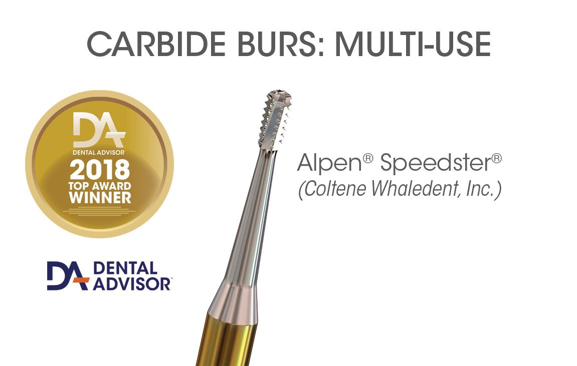 Alpen Speedster Metal Cutting Carbide Burs