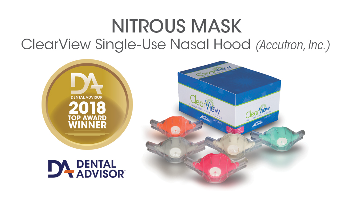 ClearView Single-Use Nasal Hoods
