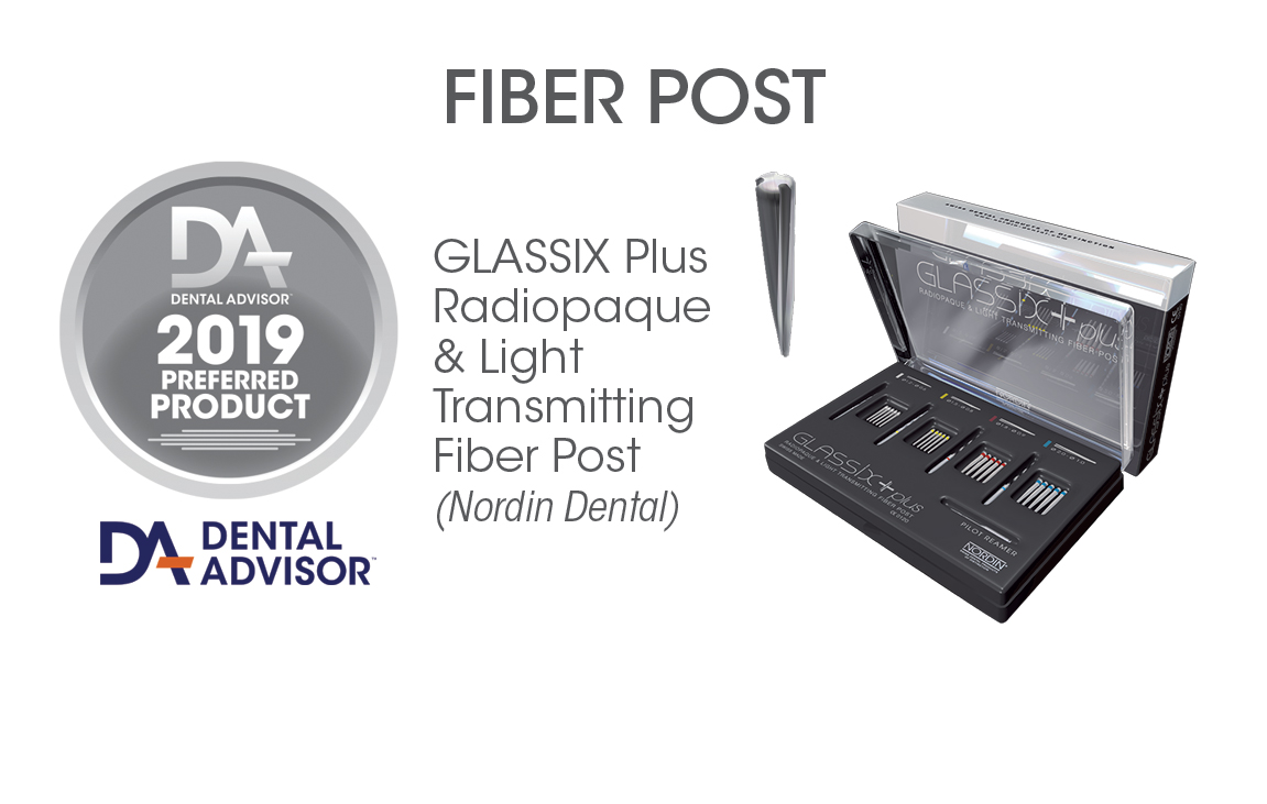 GLASSIX Plus Radiopaque & Light Transmitting Fiber Post