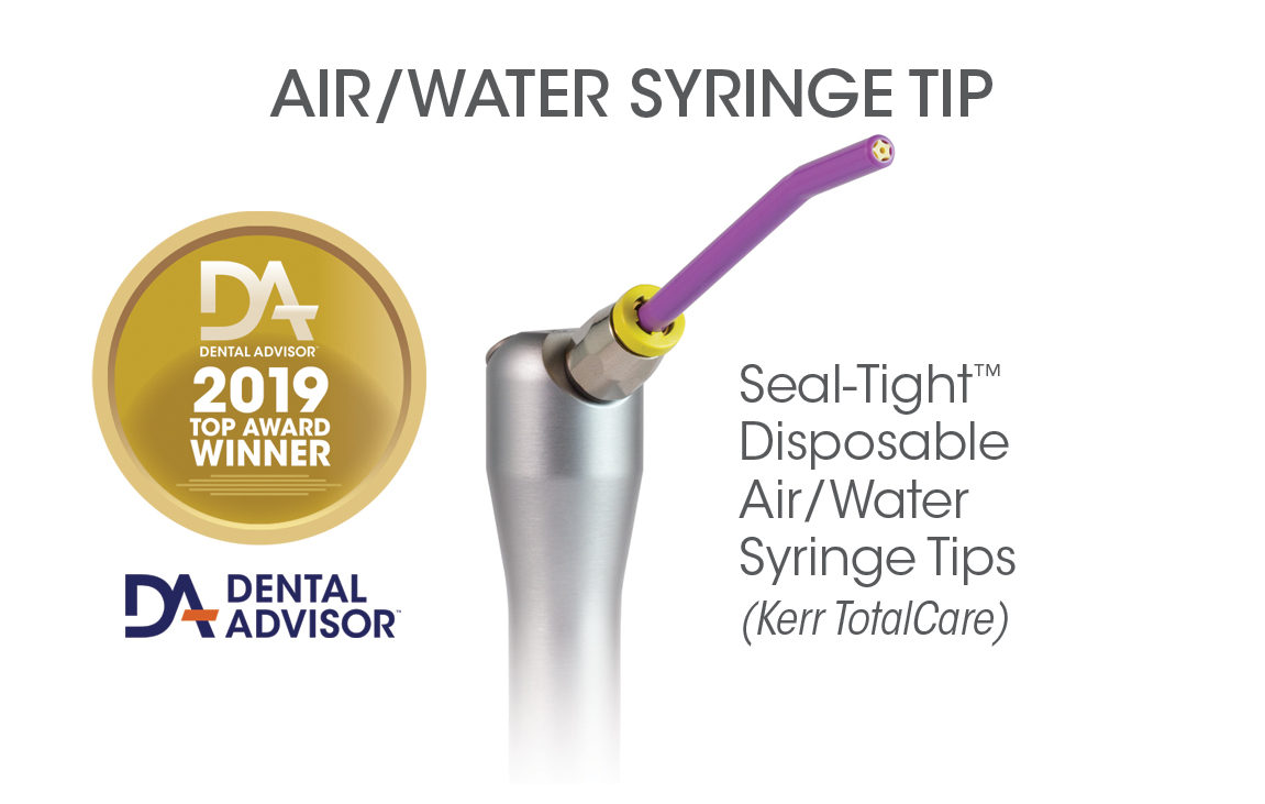 Seal-Tight™ Disposable Air/Water Syringe Tips