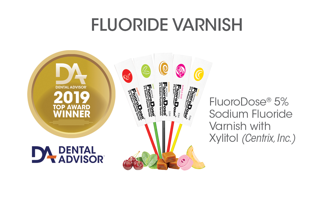 FluoroDose®  5% Sodium Fluoride Varnish  with Xylitol