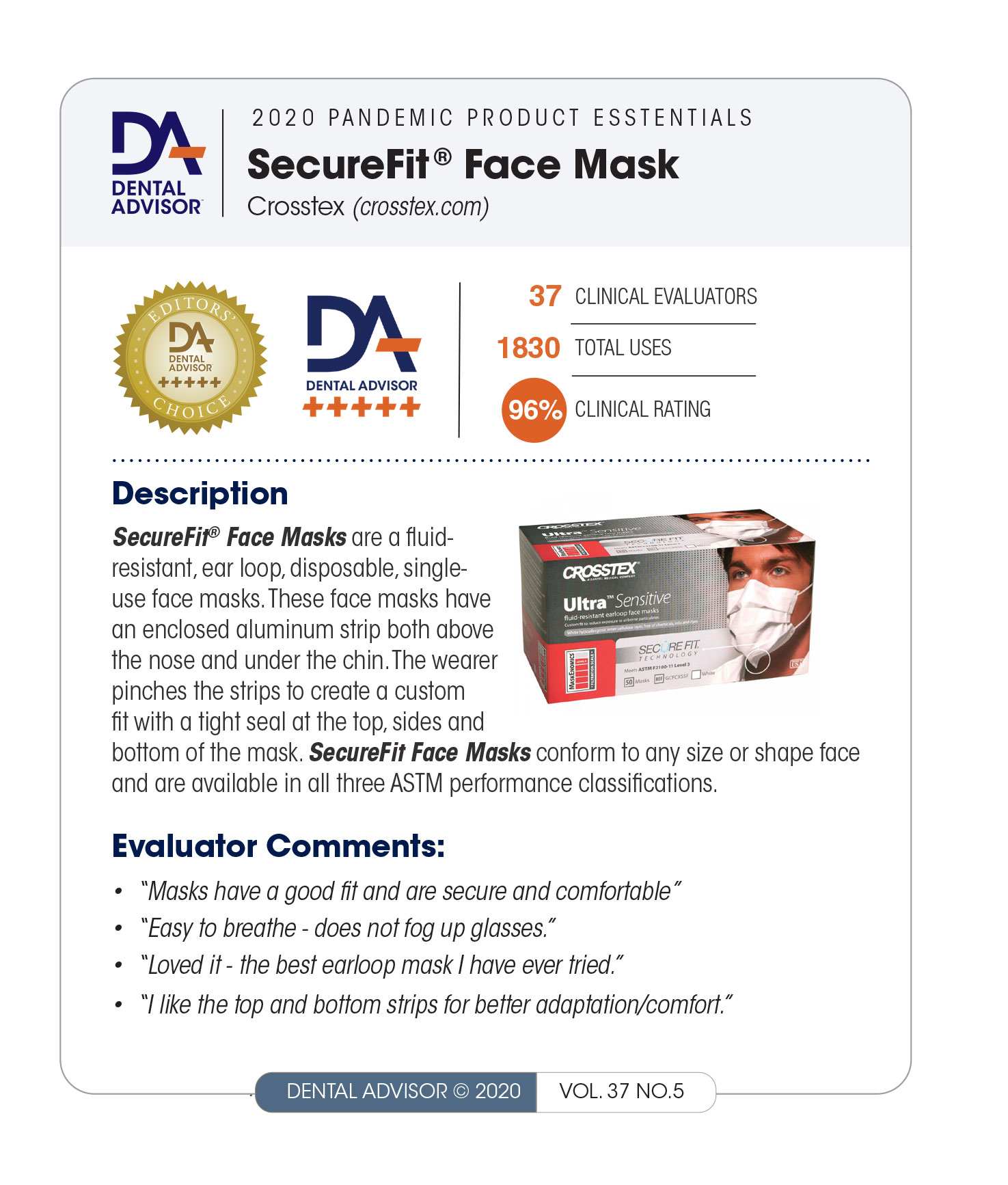 SecureFit-Mask