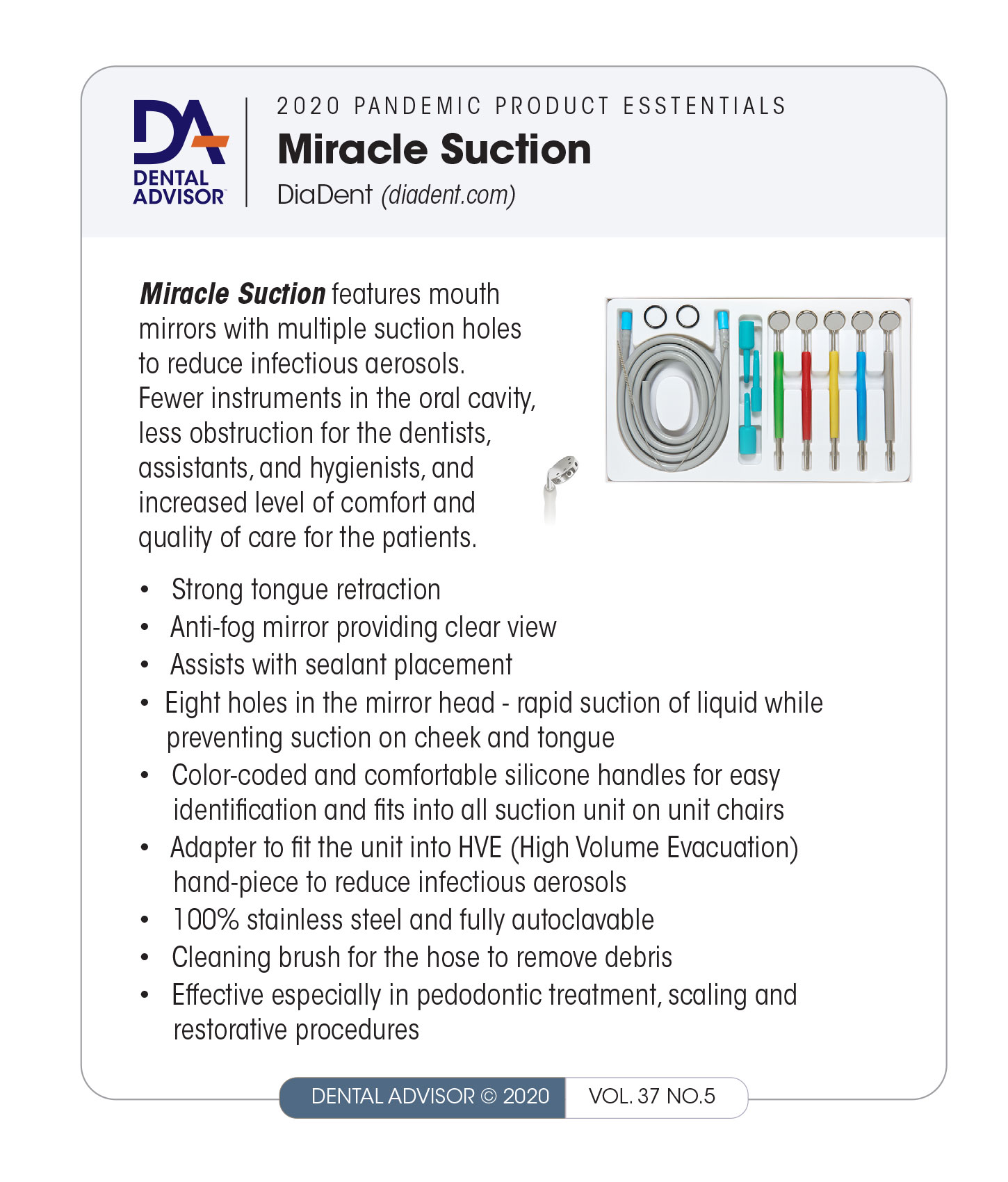 Diadent-Miracle-Suction