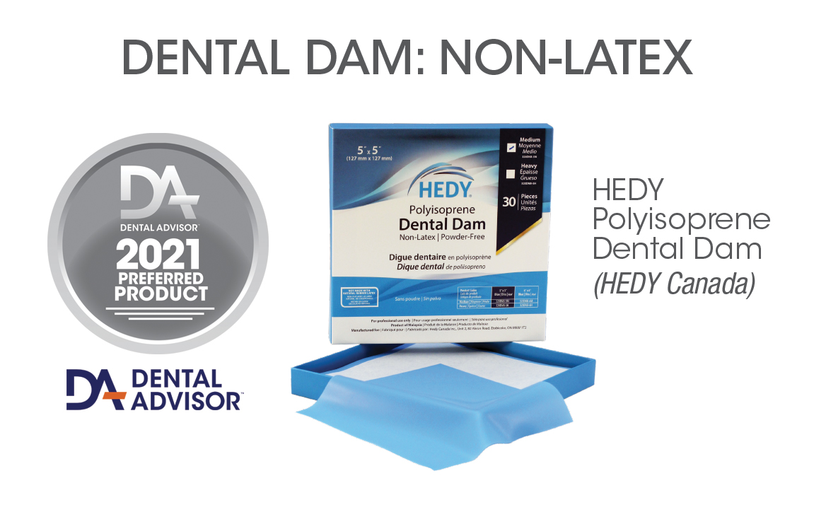 HEDY Polyisoprene Dental Dam