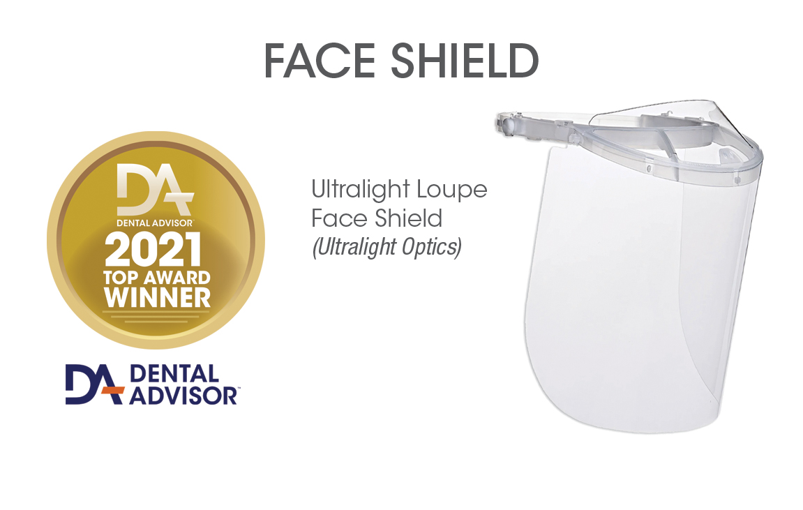 Ultralight Loupe Face Shield